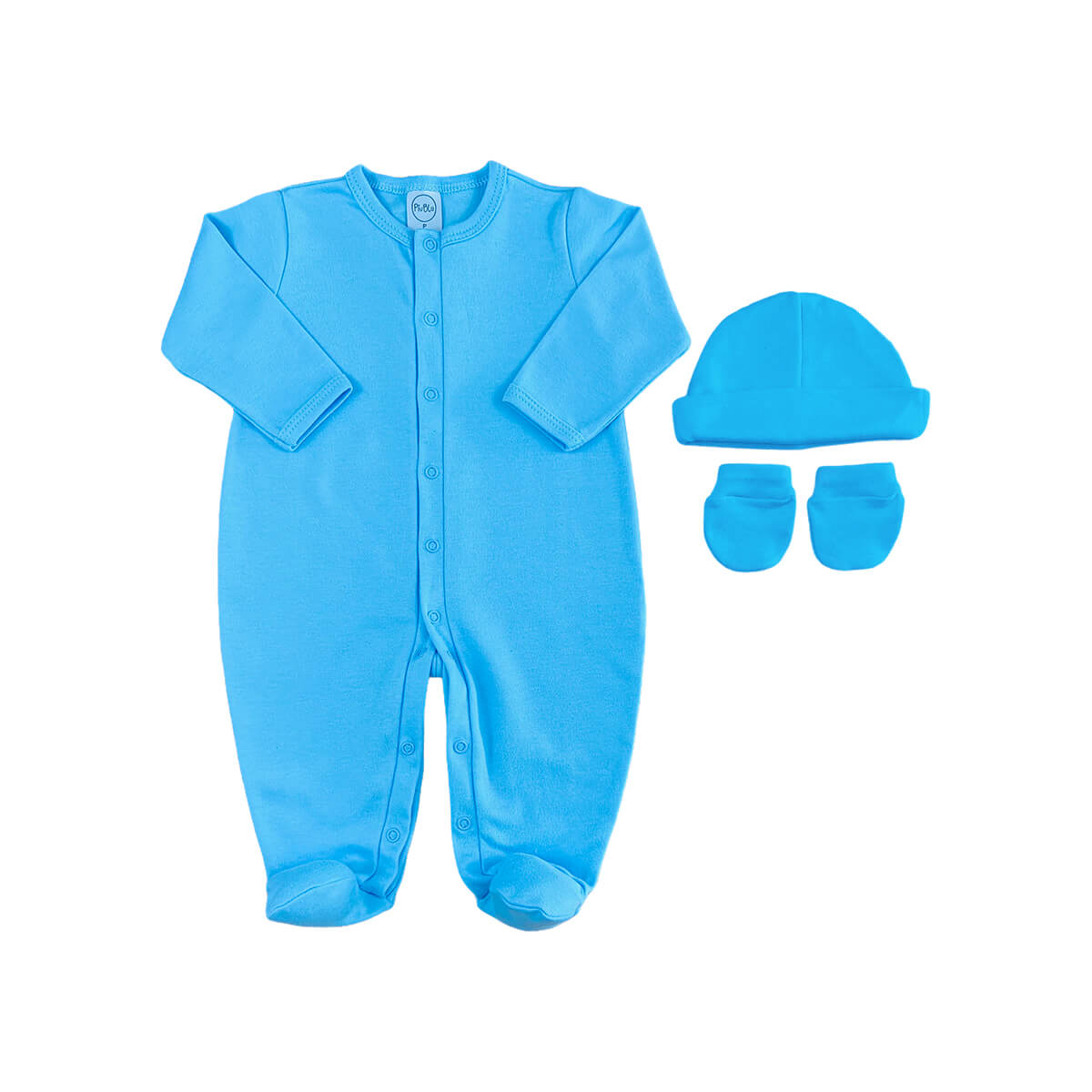 Kit Maternidade Básico Azul