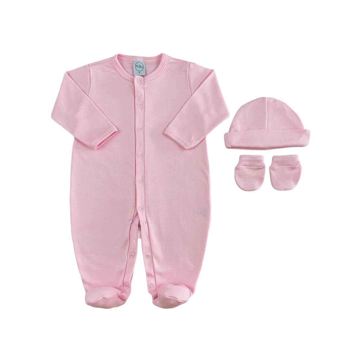 Kit Maternidade Básico Rosa