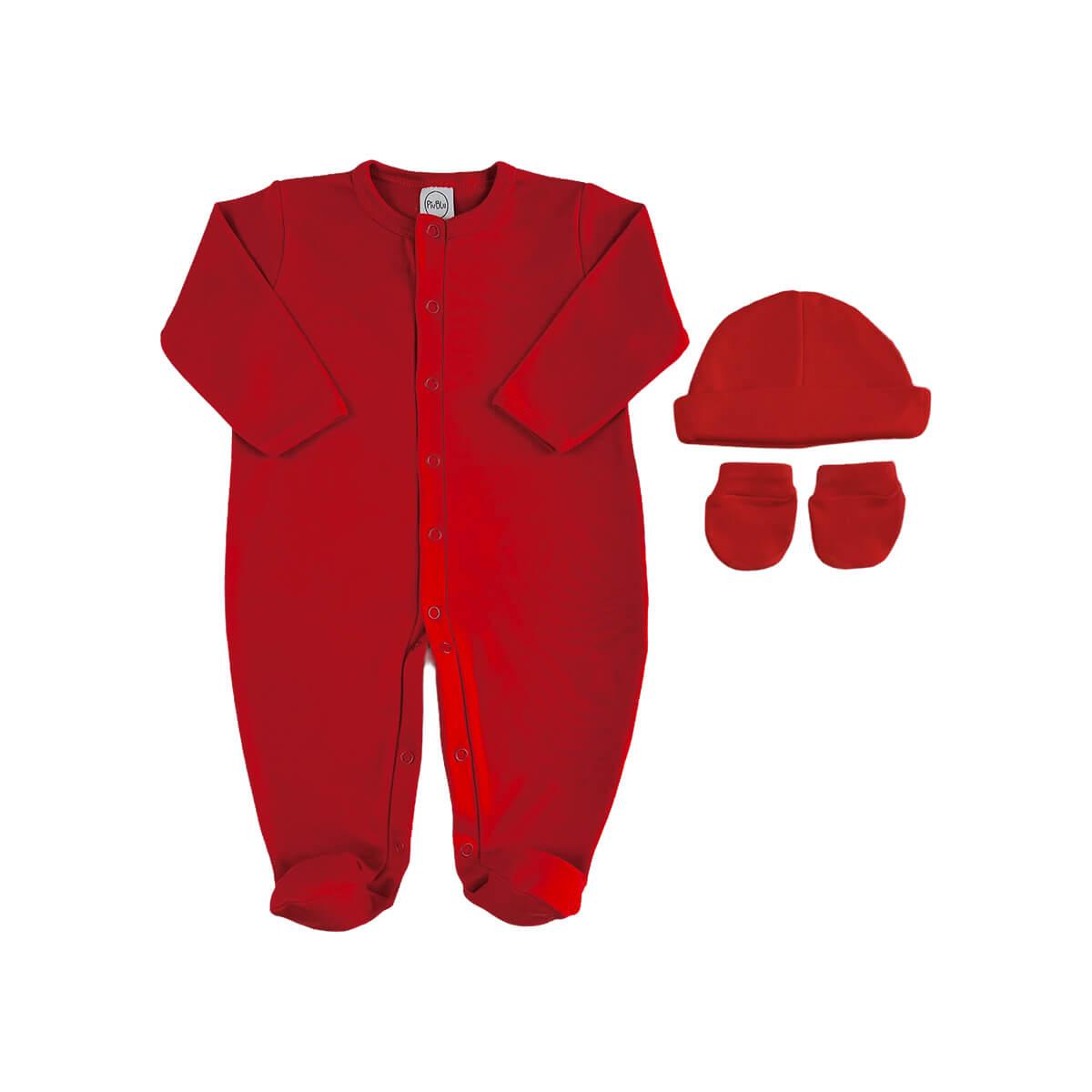 Kit Maternidade Básico Vermelho