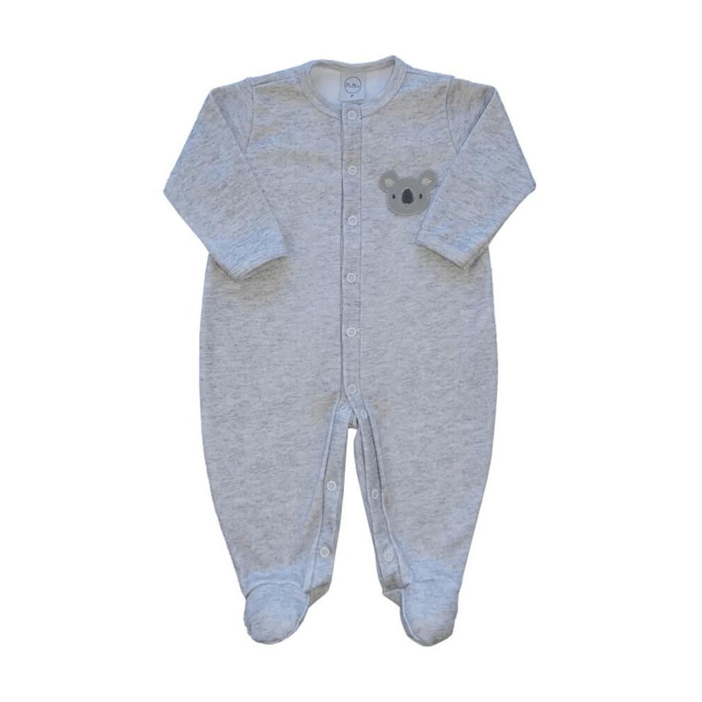 Macacão Bebê Fio Egípcio Coalinha  - Piu Blu