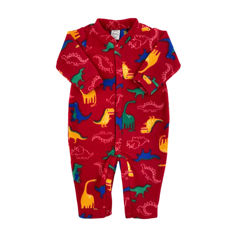 Macacão Bebê Soft Dino - 1 ao 3