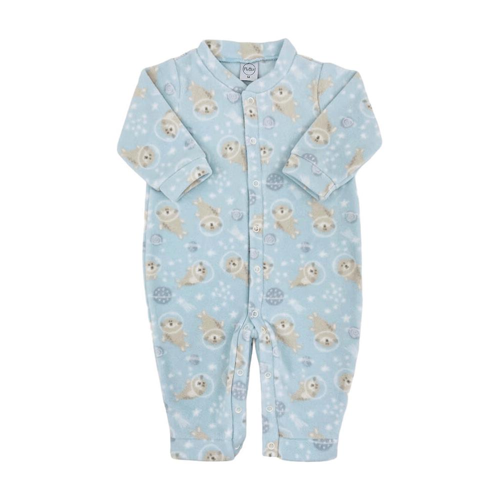 Macacão Bebê Soft Foquinha - 1 ao 3  - Piu Blu
