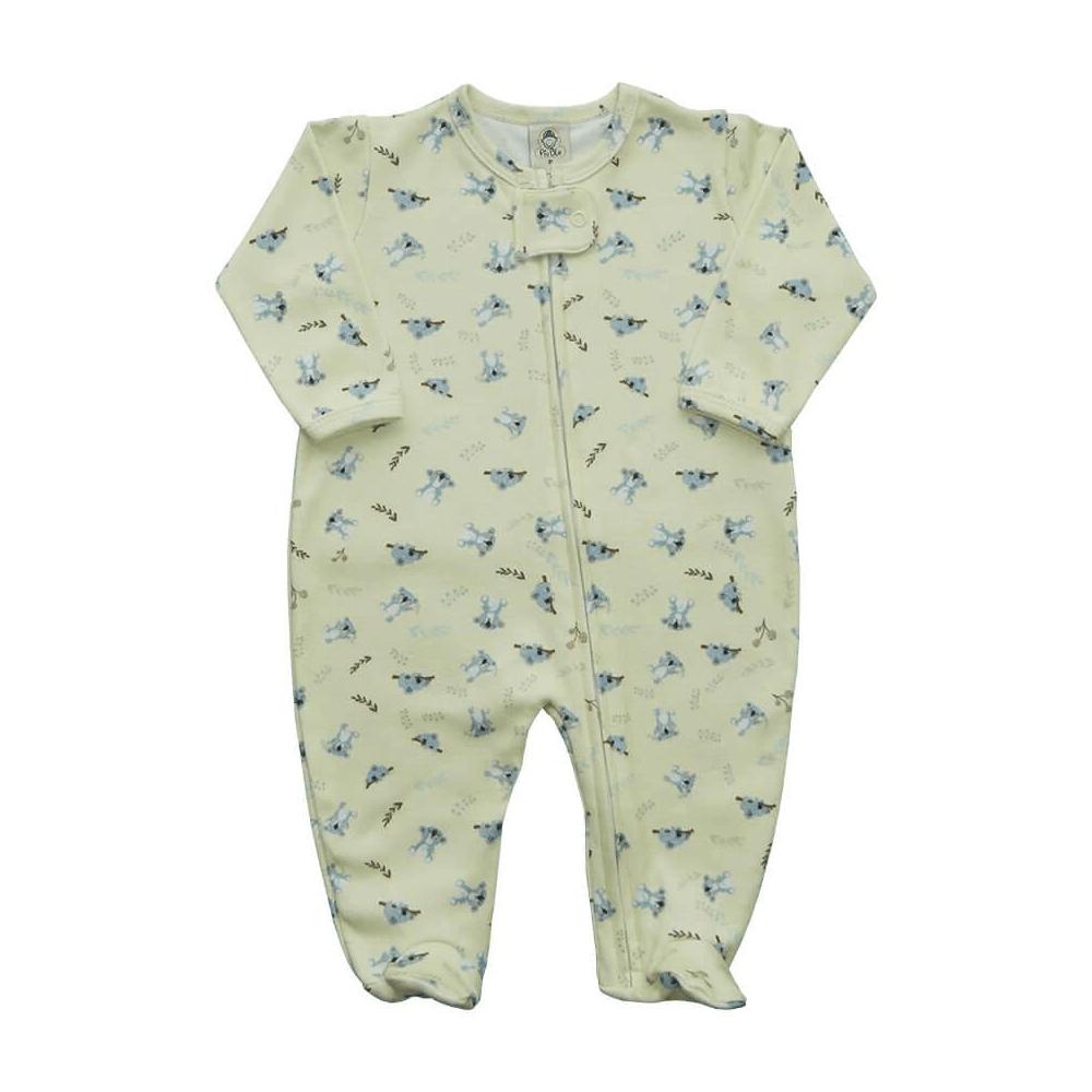 Macacão Bebê Zíper Coala  - Piu Blu