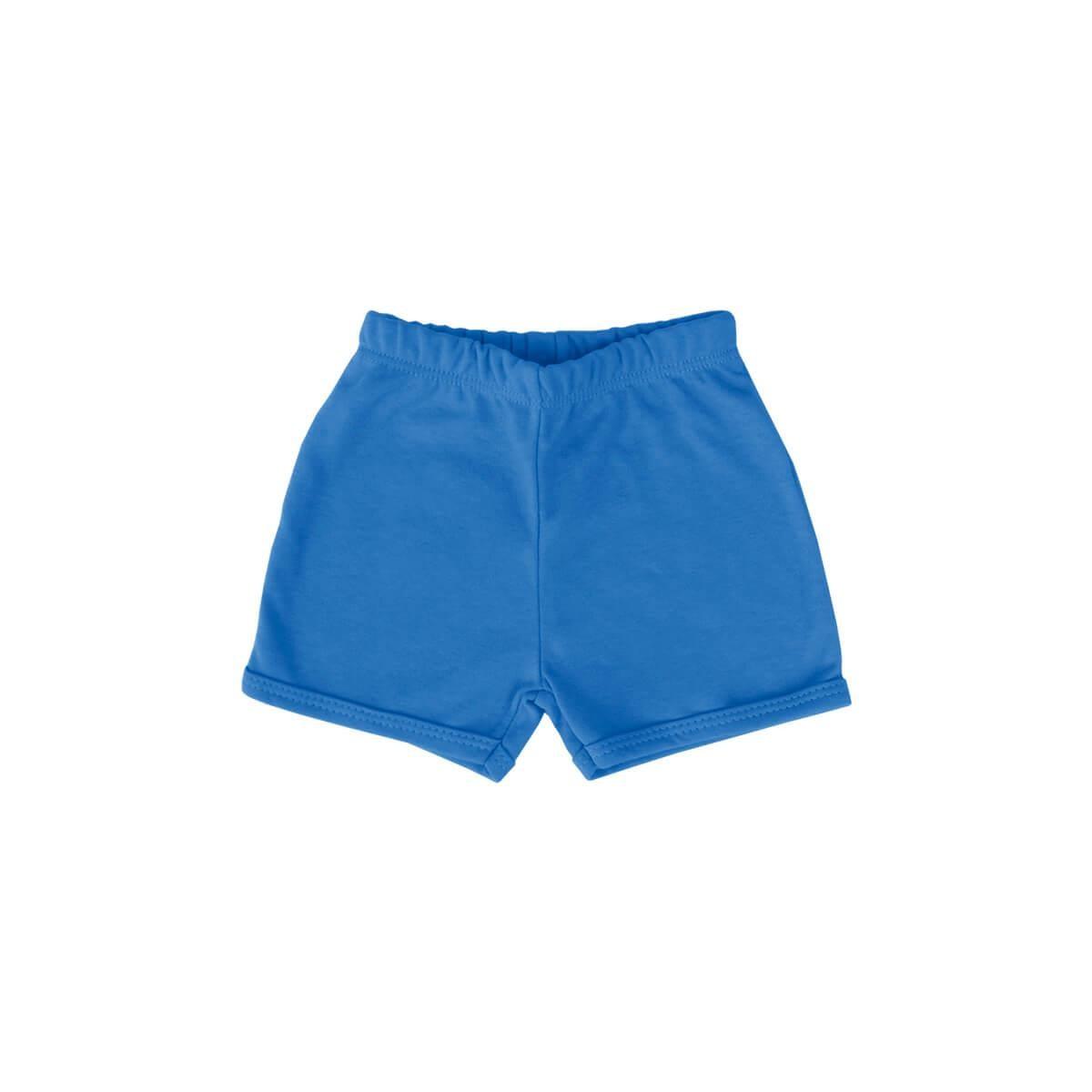 Shorts Básico Azul Cobalto