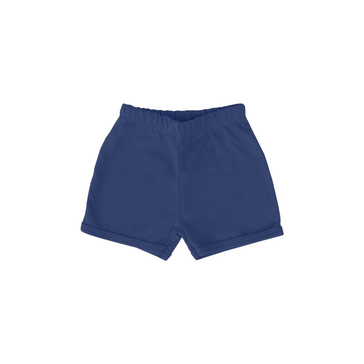 Shorts Básico Azul Marinho