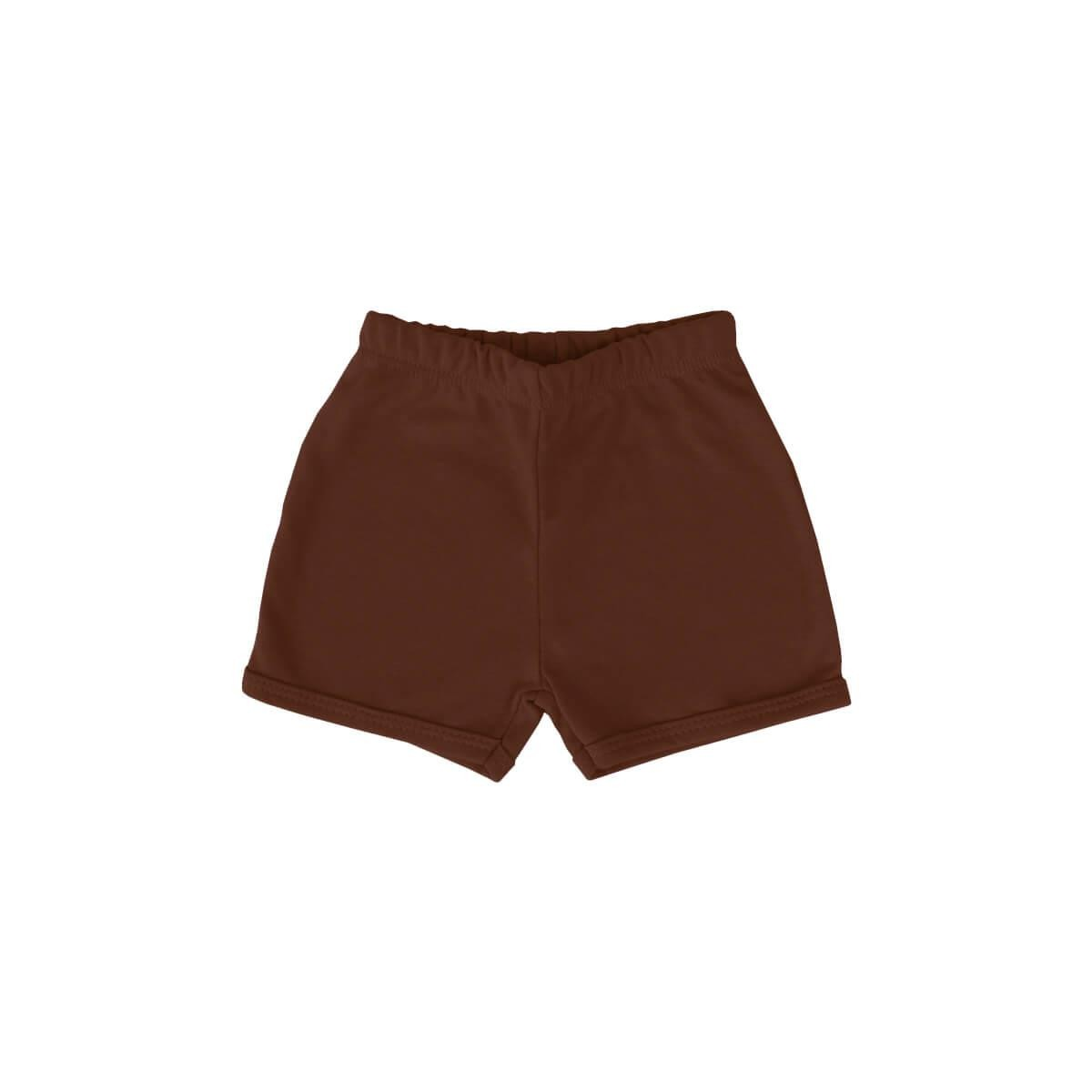 Shorts Básico Chocolate