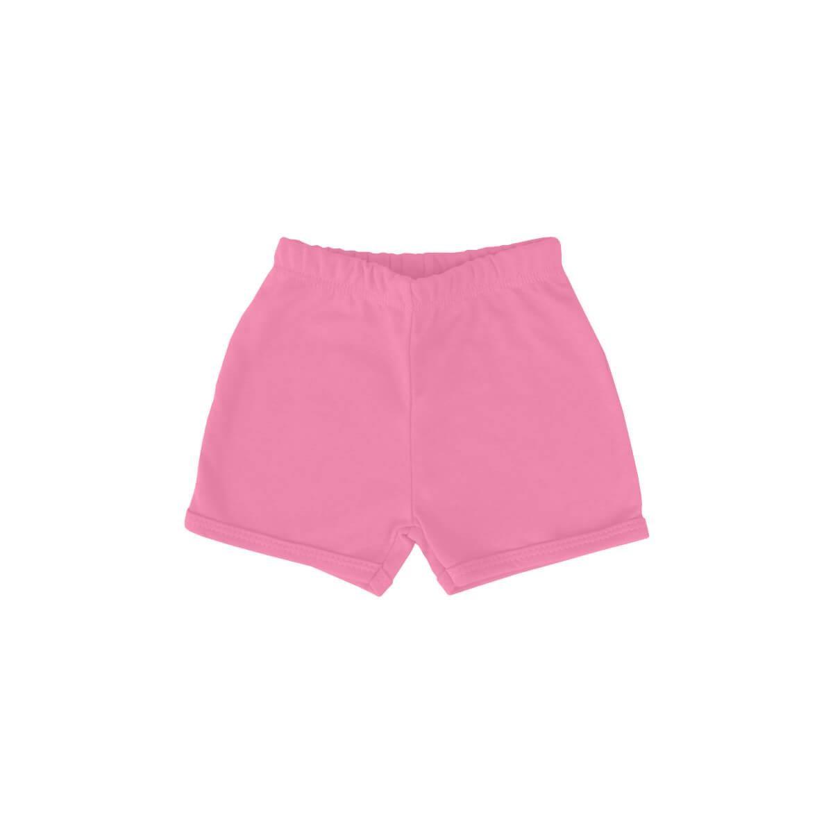 Shorts Básico Rosa Chiclete