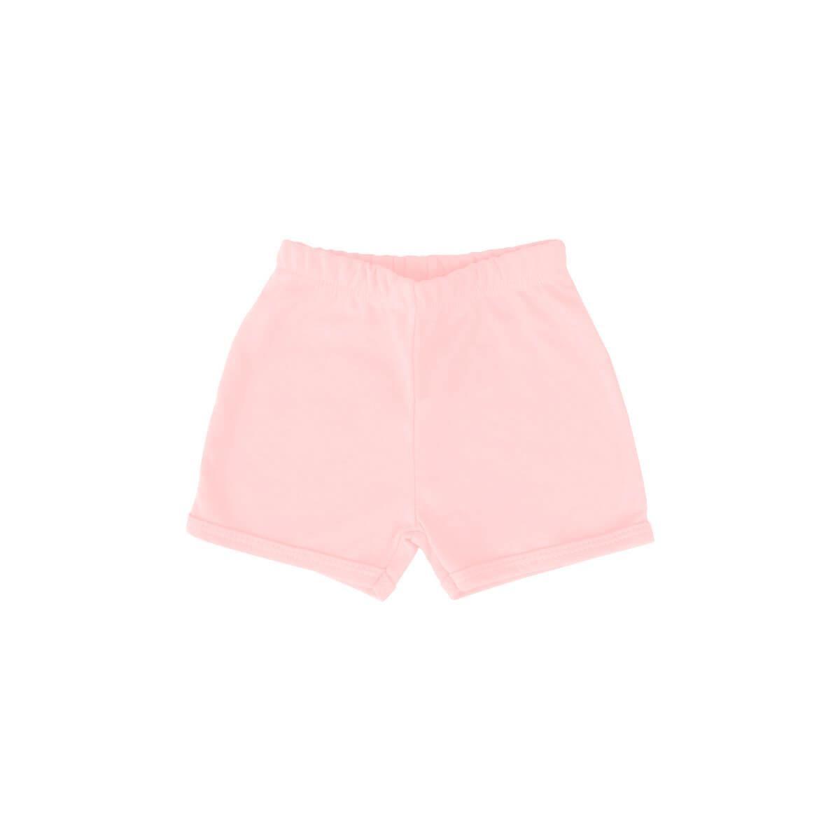 Shorts Básico Rosa