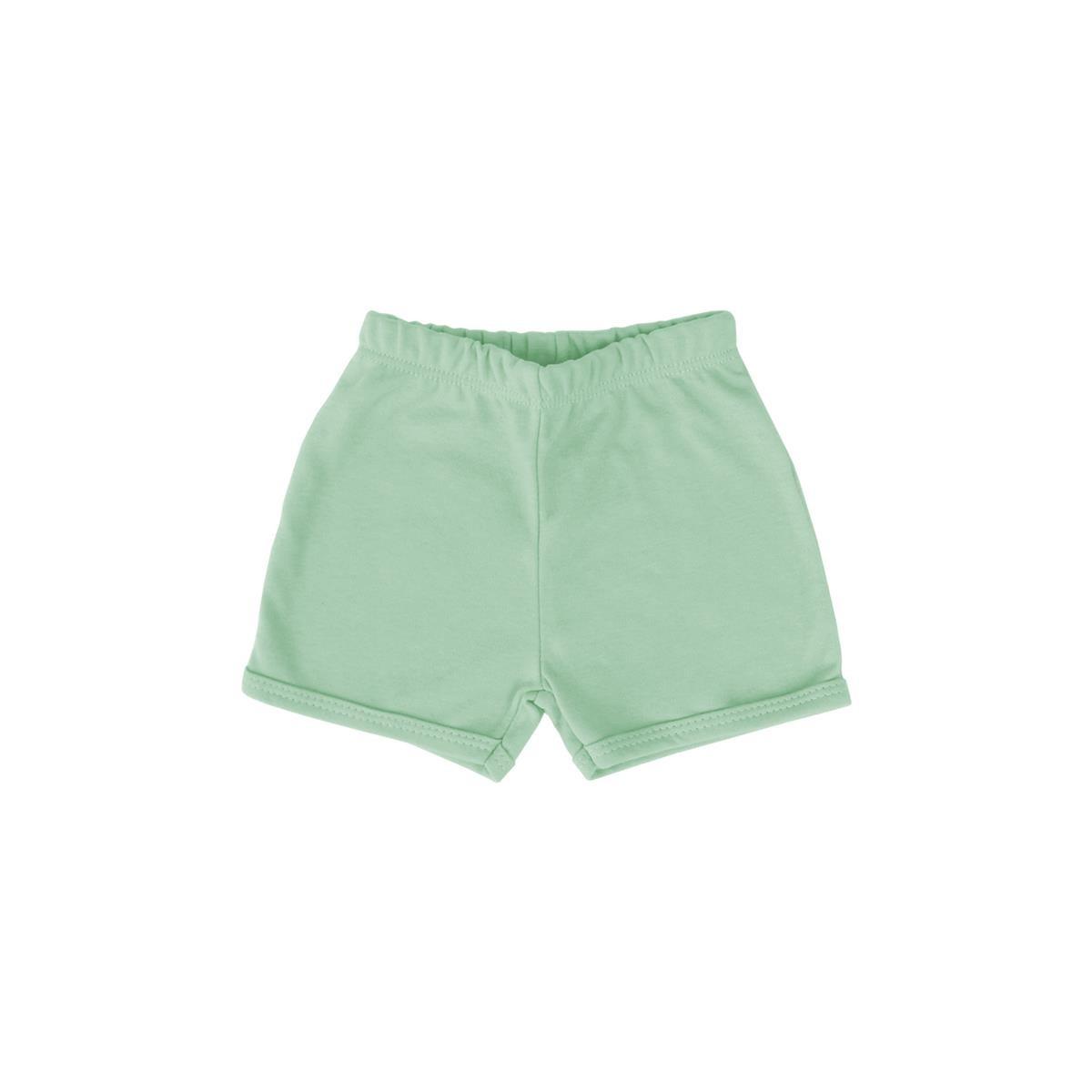 Shorts Básico Verde Claro