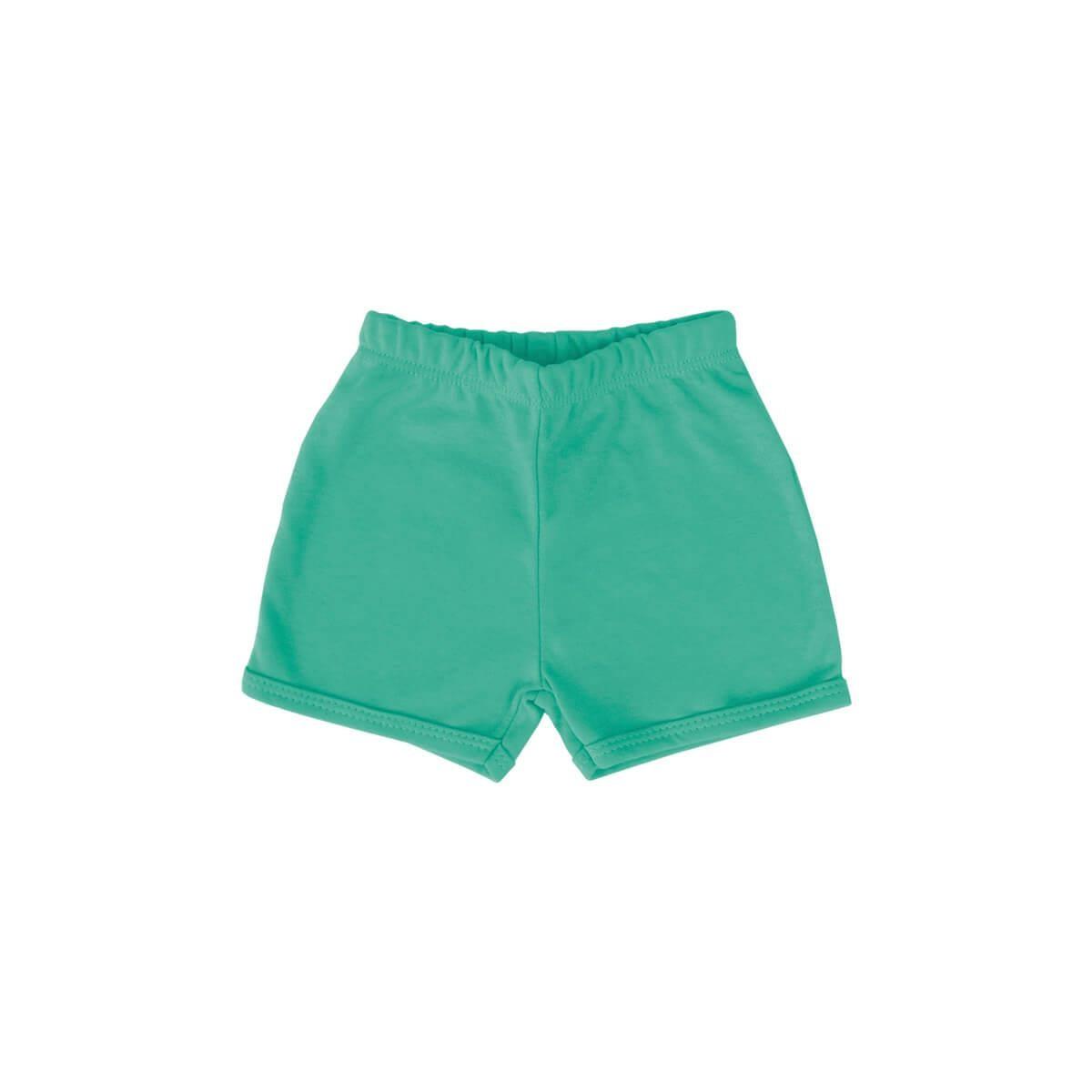 Shorts Básico Verde Primavera