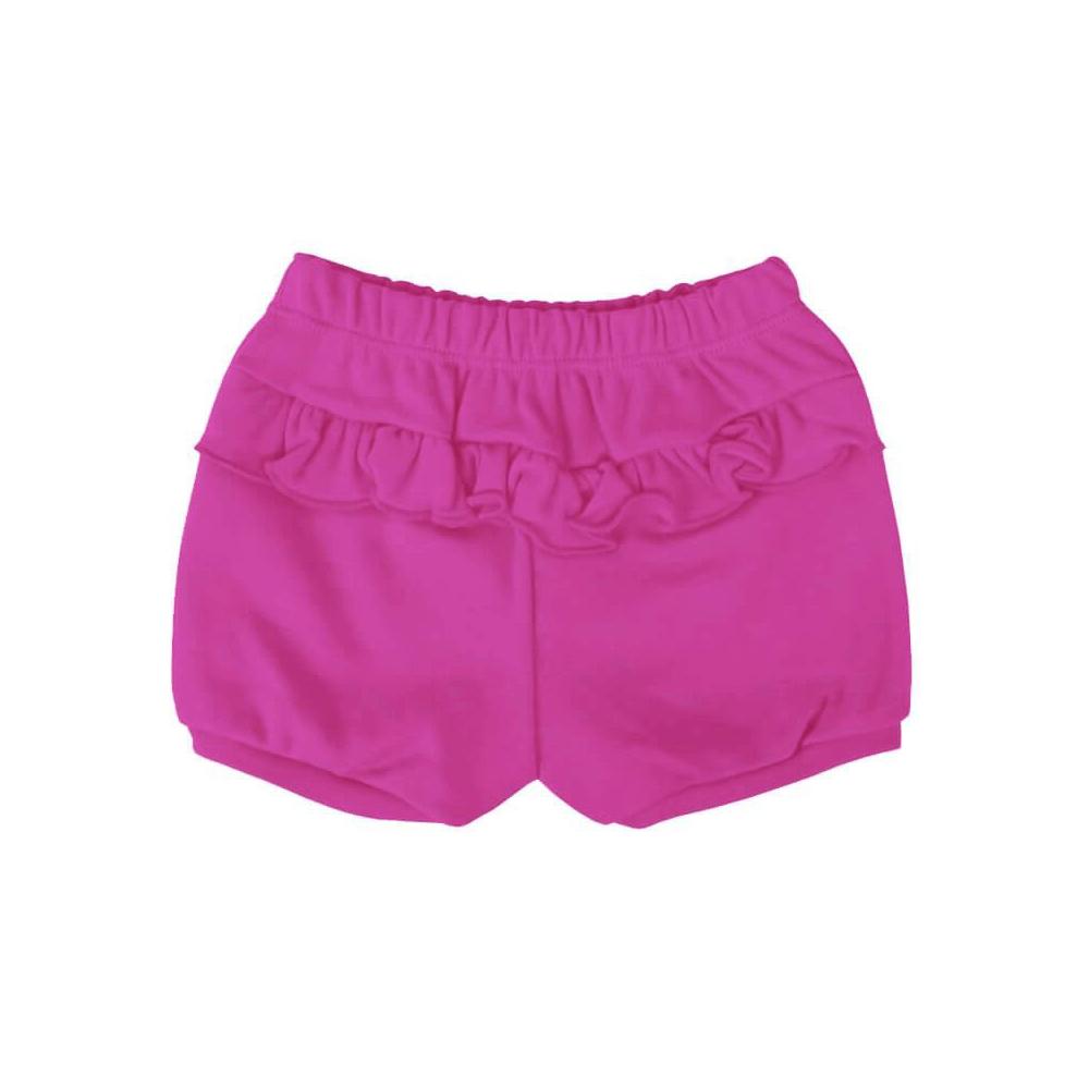 Shorts Bebê Feminino Pink  - Piu Blu