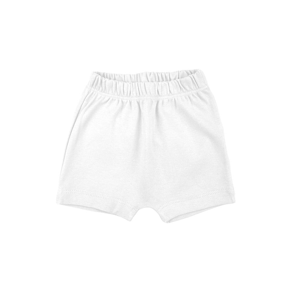 Shorts Bebê Saruel Branco