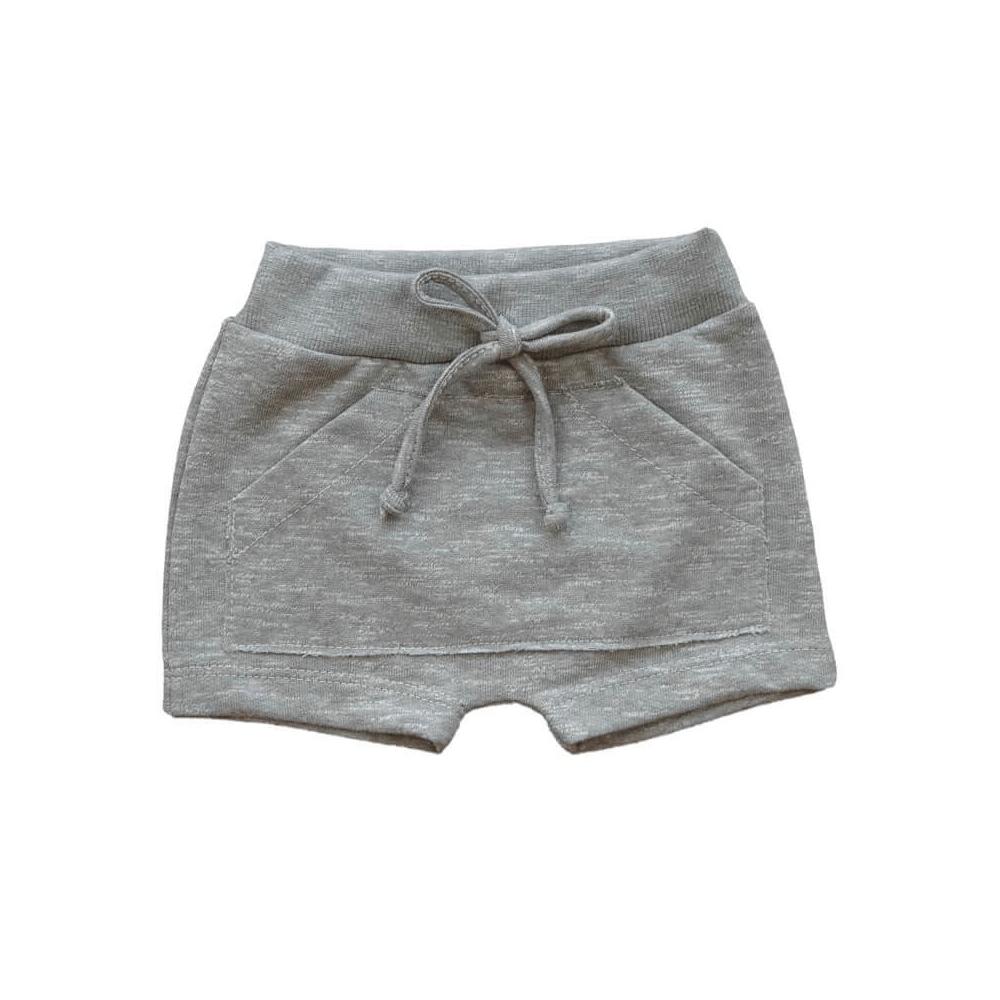 Shorts Bebê Saruel Moletinho Verde - 1 ao 3  - Piu Blu