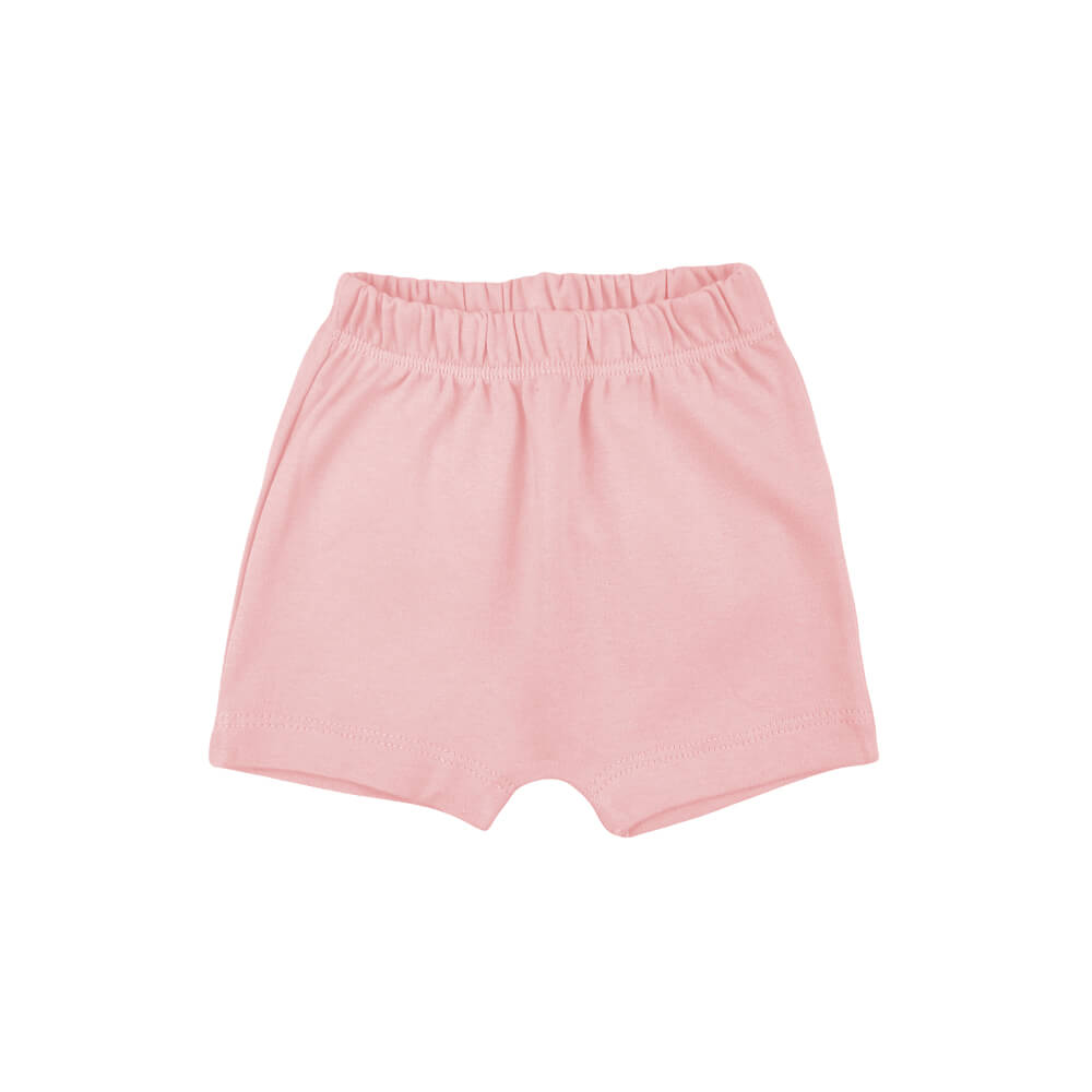 Shorts Bebê Saruel Rosa  - Piu Blu