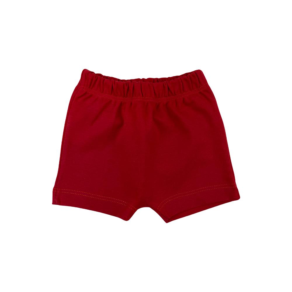 Shorts Bebê Saruel Vermelho