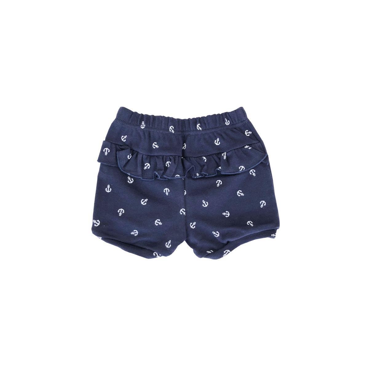 Shorts Feminino Âncora  - Piu Blu