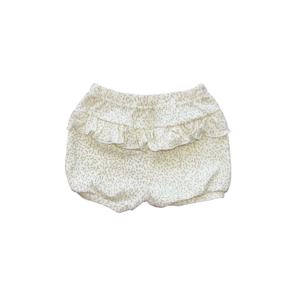Shorts Feminino Oncinha Off-White