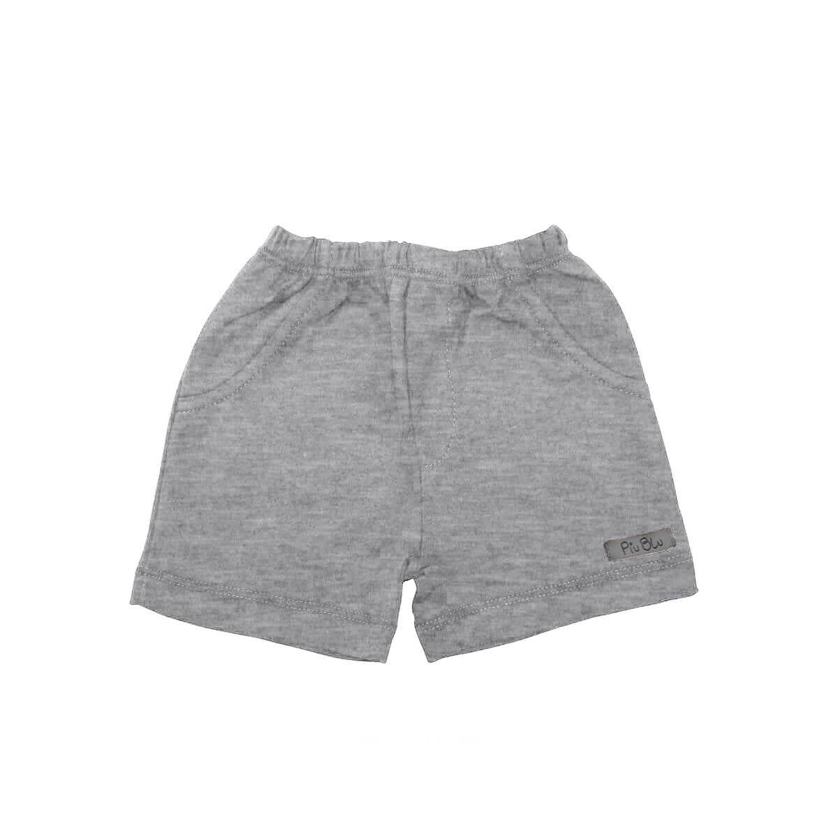 Shorts Masculino 1 ao 4 Mescla