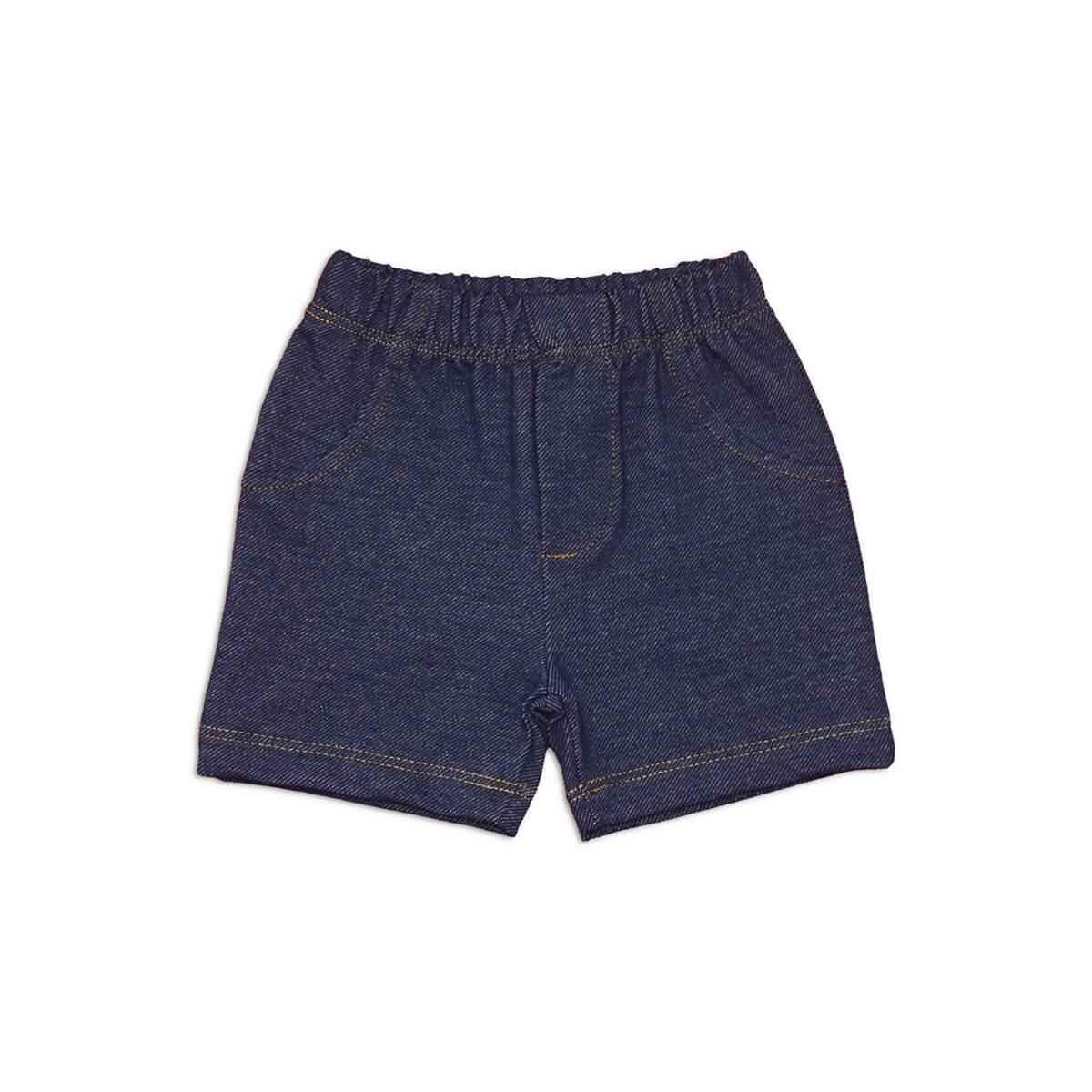 Shorts Masculino Estilo Jeans - 1 ao 3 Moletinho