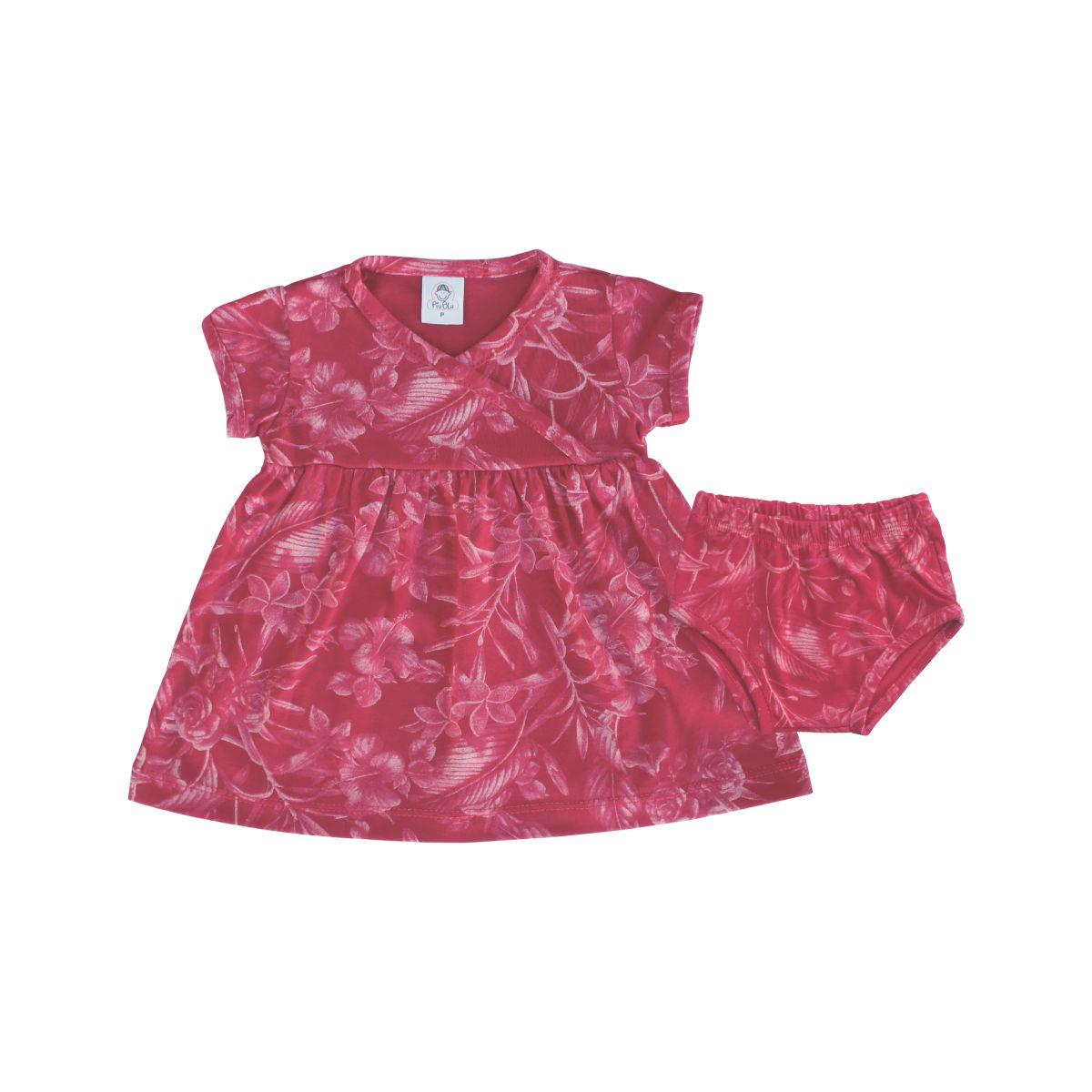 Vestido Floral - 1 ao 3