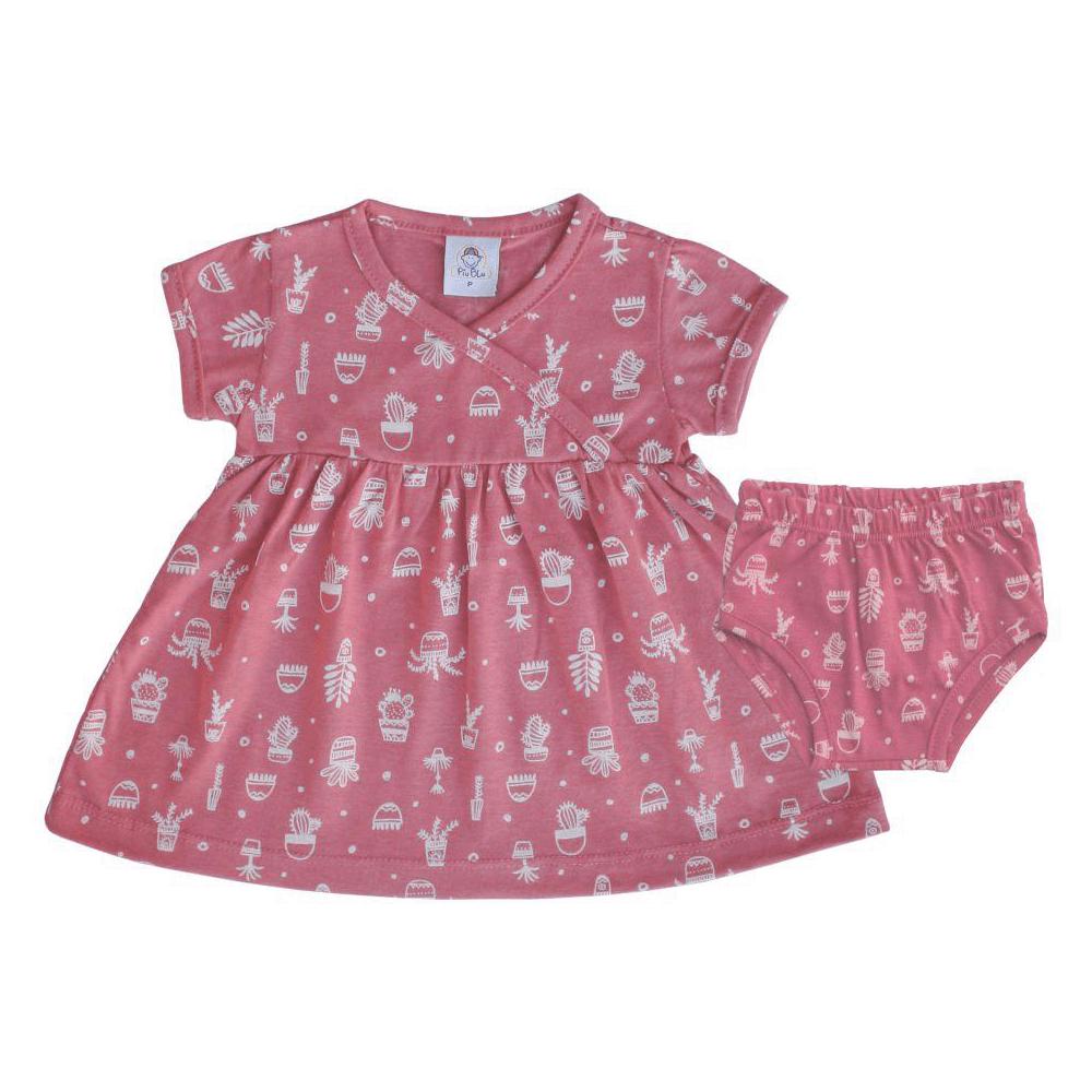 Vestido Infantil Vasinhos  - Piu Blu