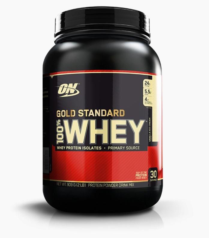 100% Whey Gold Standard - Optimum Nutrition - 909g