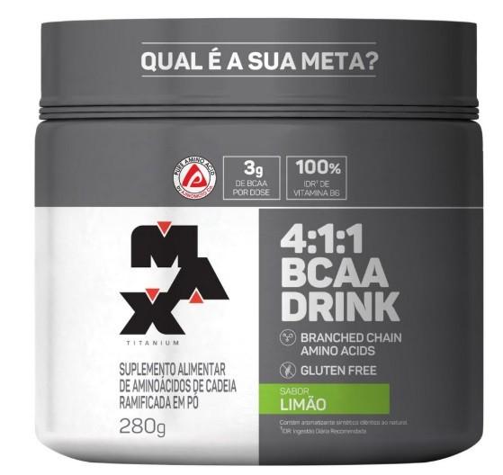 4:1:1 Bcaa Drink - Max Titanium - 280g