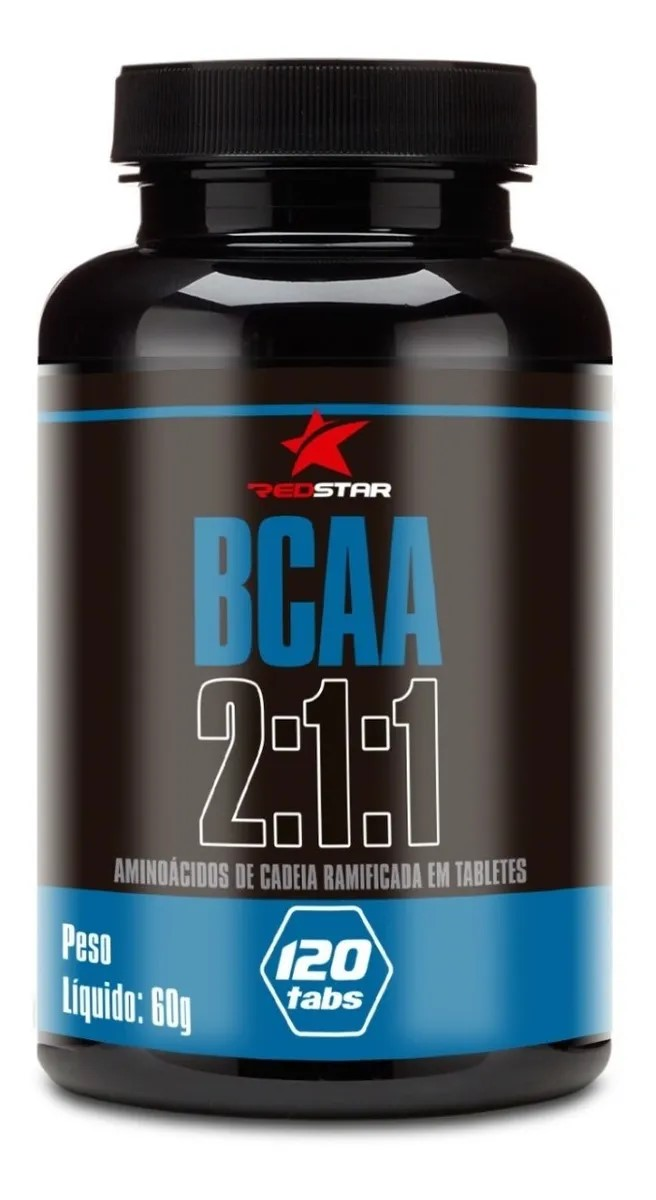 Bcaa 2:1:1 Red Series - 120 Tabletes