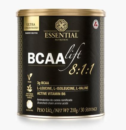 Bcaa Lift 8:1:1 - Essential Nutrition - 210g