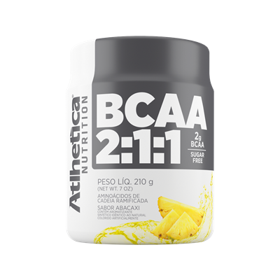 Bcaa Powder 2:1:1 - Atlhetica Nutrition - 210g