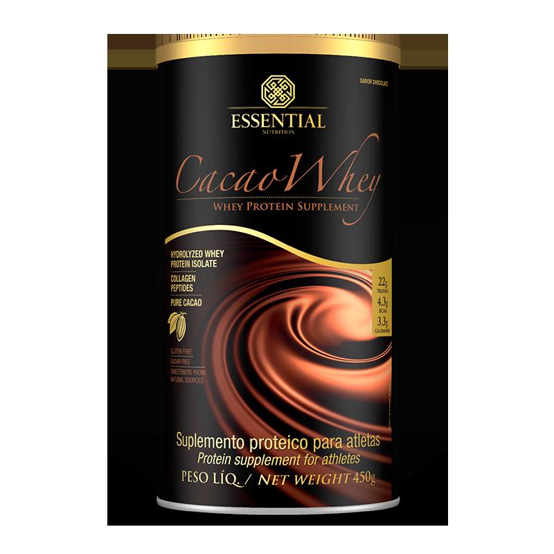 Cacao Whey - Essential Nutrition - 450g