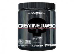 Creatina Turbo 300 gramas - Black Skull
