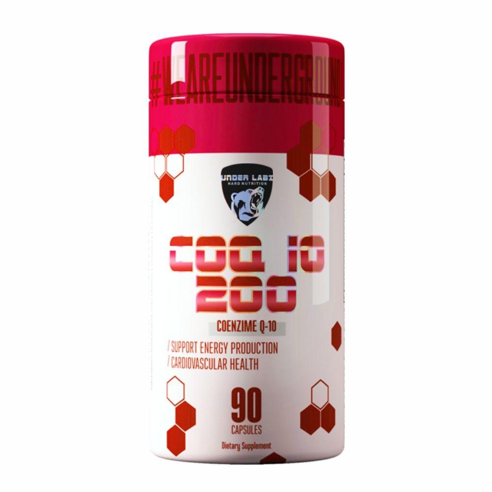 Coq10 200 Under Labz - 90 Cápsulas