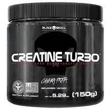 Creatina Turbo 150 gramas - Black Skull
