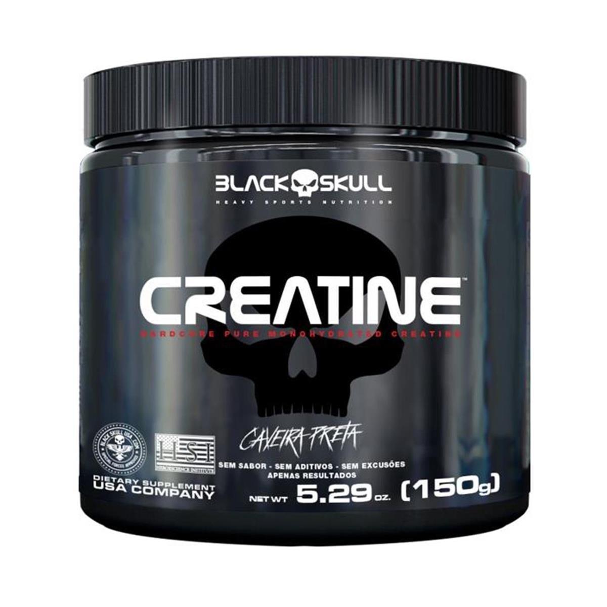 Creatine Monohidratada - Black Skull 150g