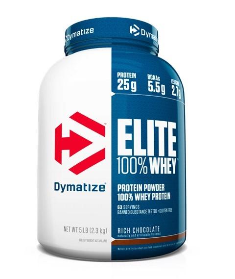 Elite 100% Whey Protein Dymatize - 2,3Kg