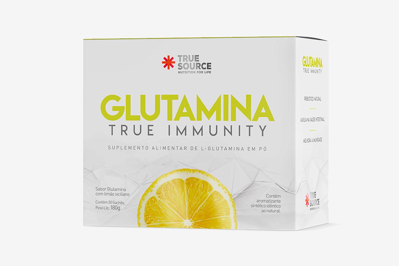 Glutamina True Source - 30 Sachês