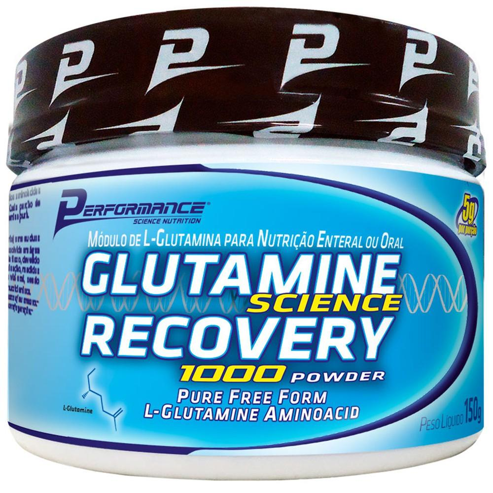 Glutamine Science Recovery 1000 Powder - Performance Nutrition