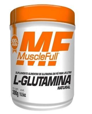 L-Glutamina - MuscleFull - 300g