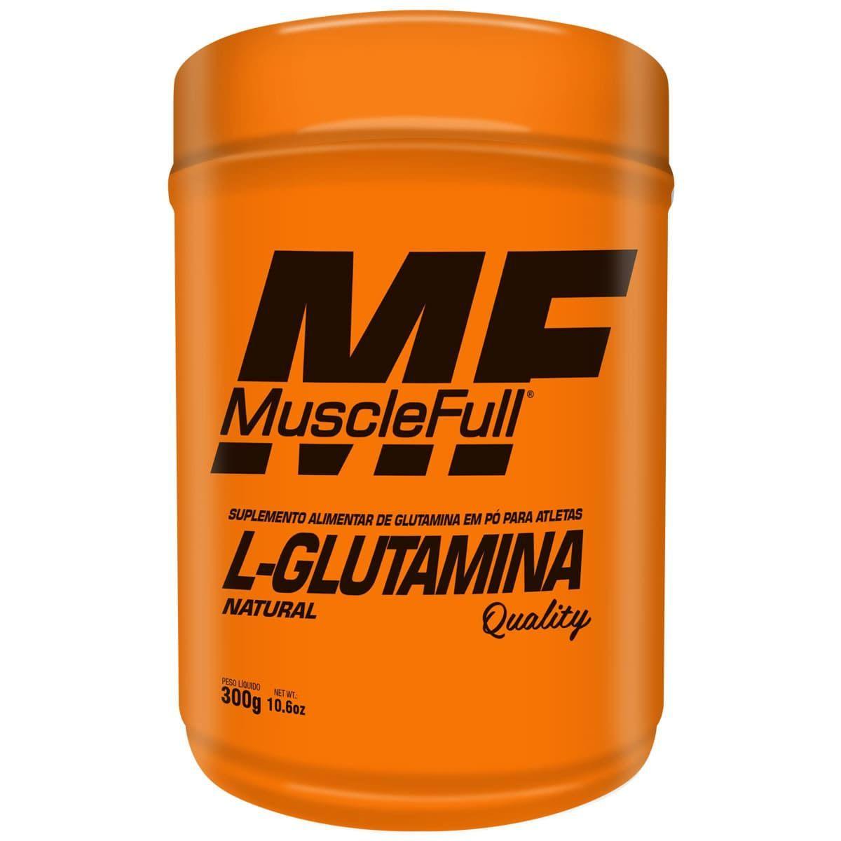 L-Glutamina Quality - MuscleFull - 300g