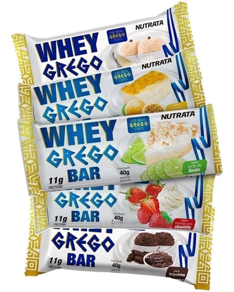 Nutrata Whey Grego Bar - Grego