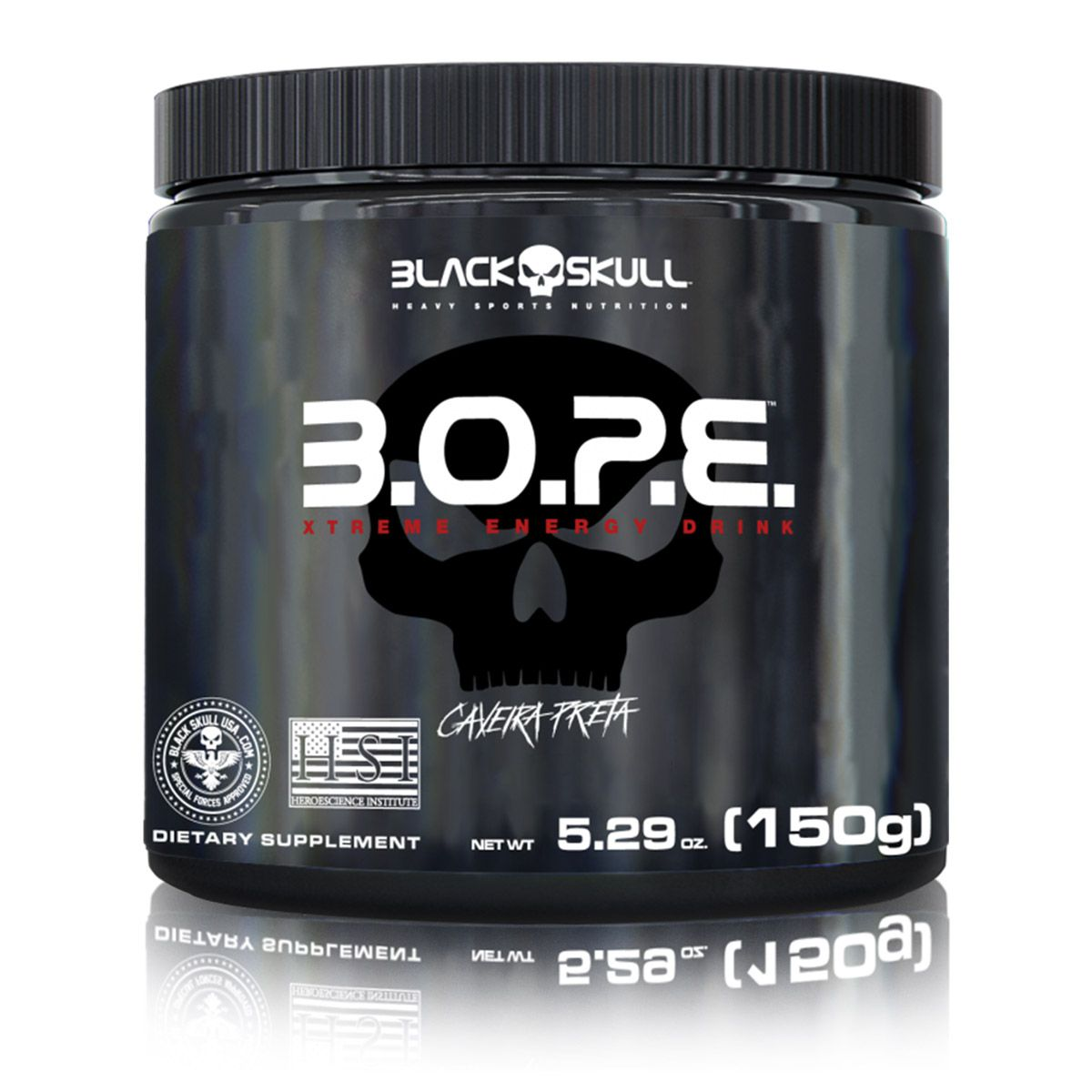 PRÉ TREINO B.O.P.E 150 GRAMAS BLACK SKULL