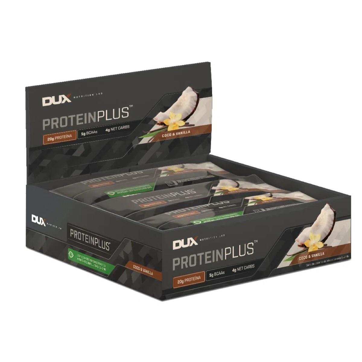 Protein Plus™ Dux  -  Caixa (9 Unidades) (70g/unidade)