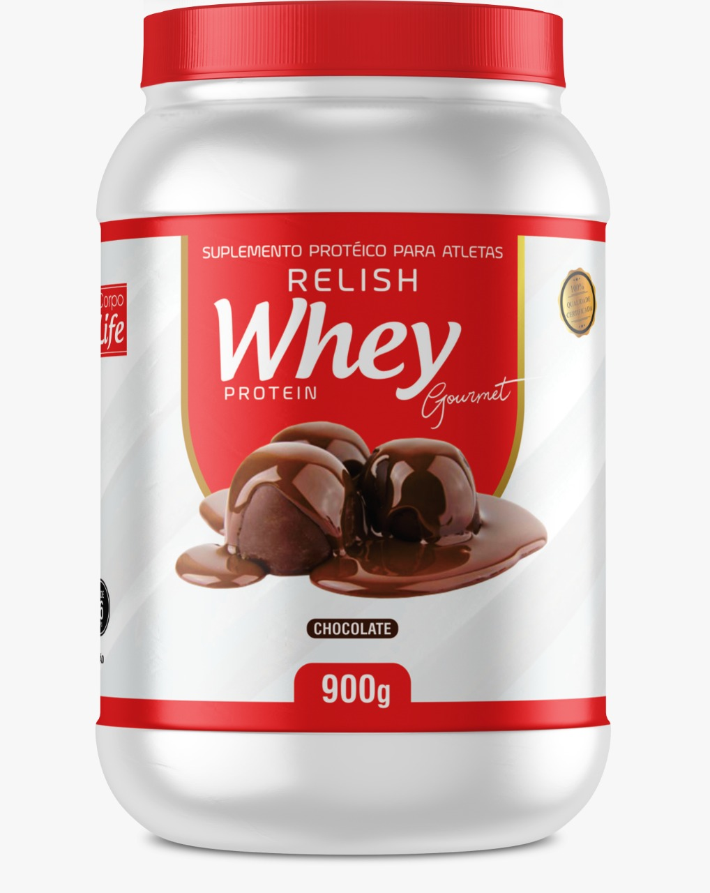 Relish Whey Protein Gourmet - Corpo Life (900g)