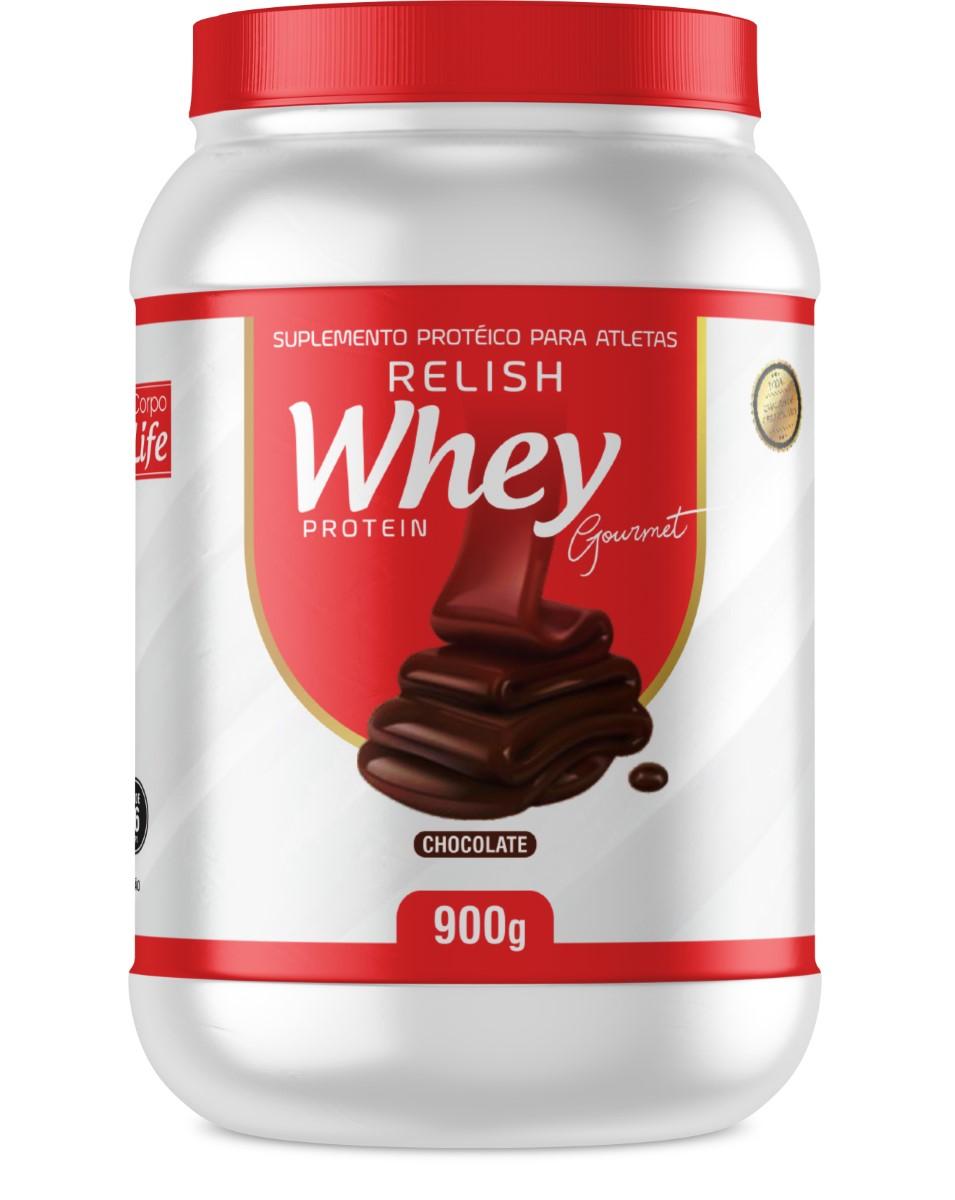 Relish Whey Protein Gourmet - Corpo Life (900g)