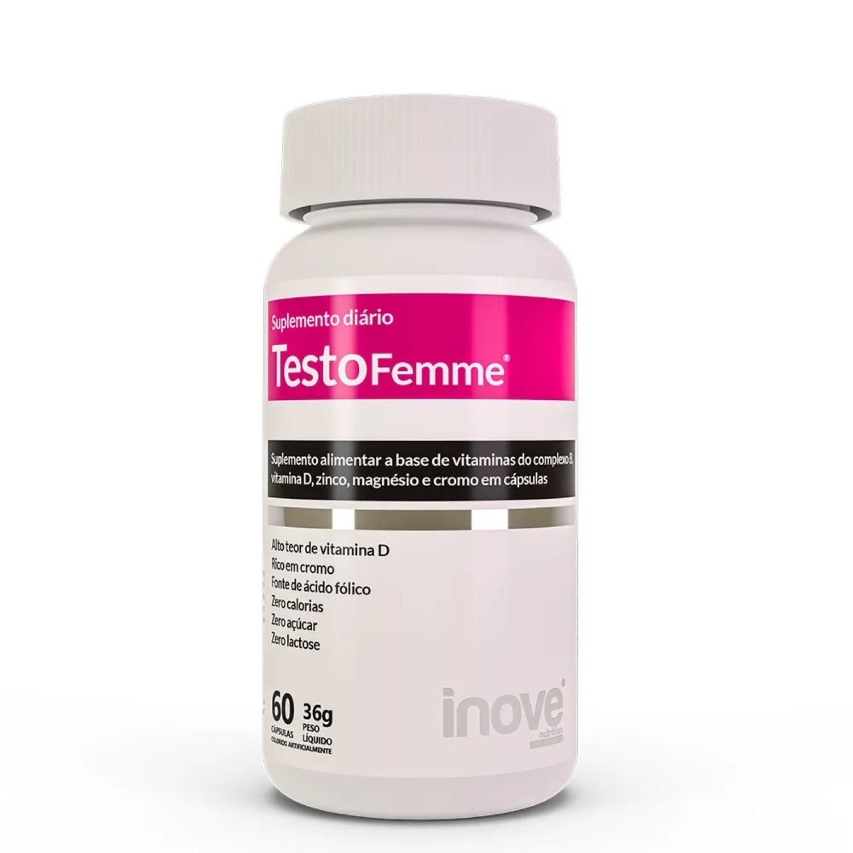 Testofemme Inove Nutrition - 60 Cápsulas