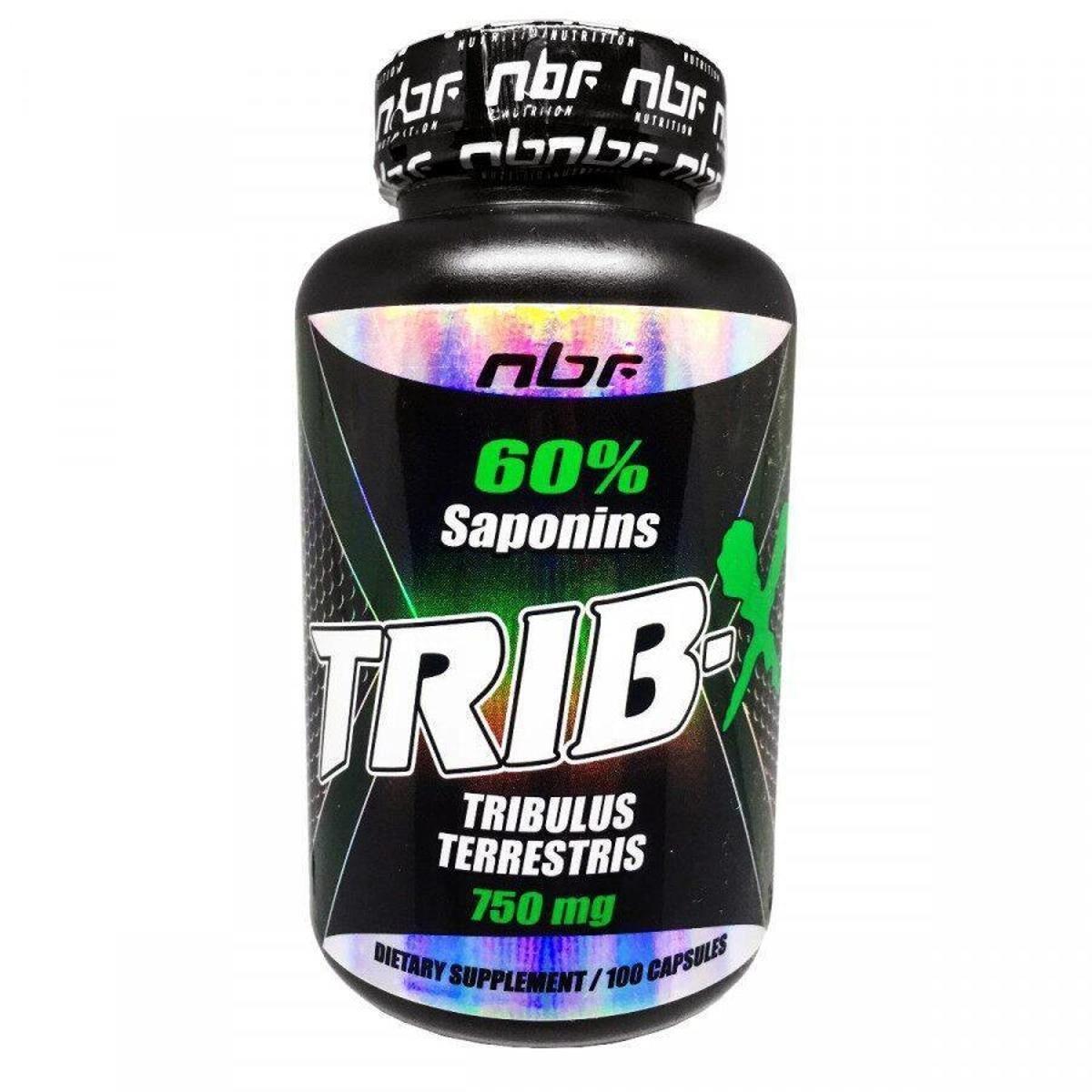 Tribulus trib-x 750mg 100caps - NBF