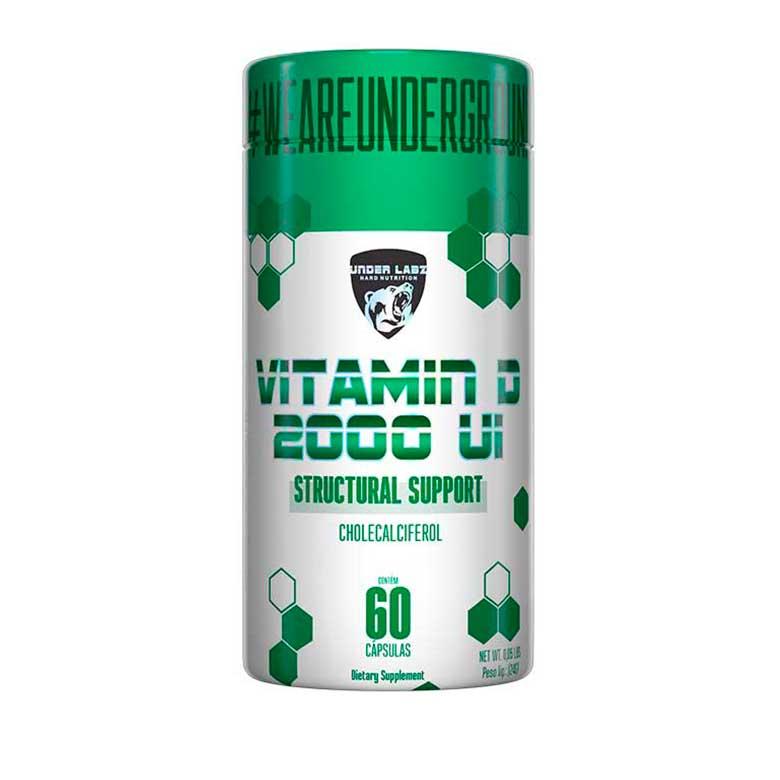Vitamin D 2000UI Under Labz - 60 Cápsulas