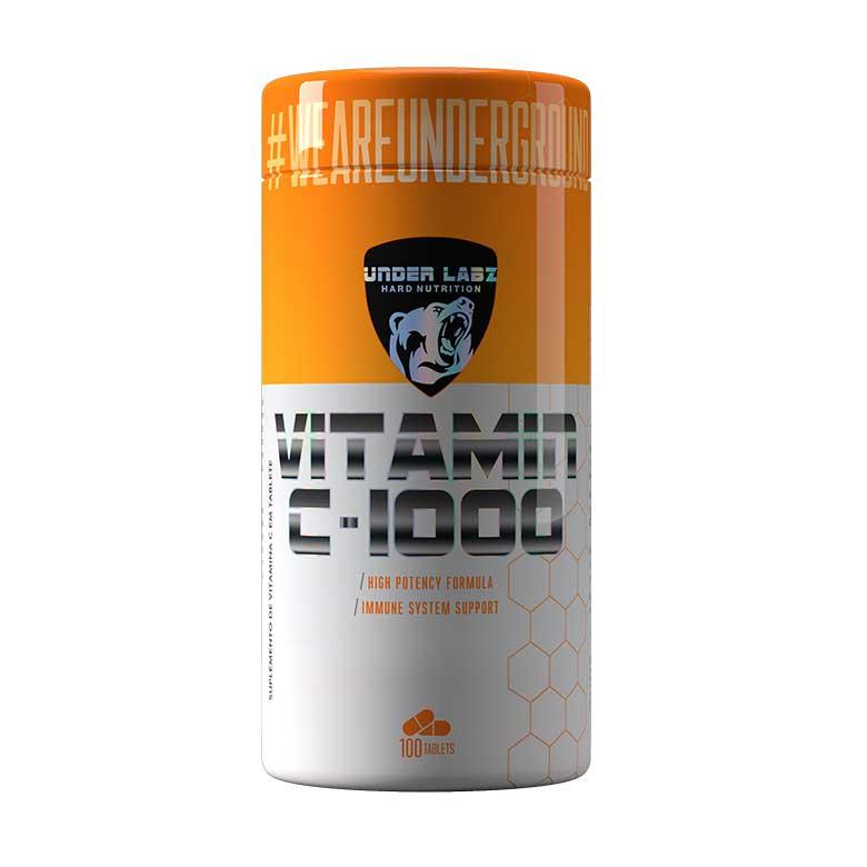 Vitamina C- 1000 Under Labz - 100 Tabletes