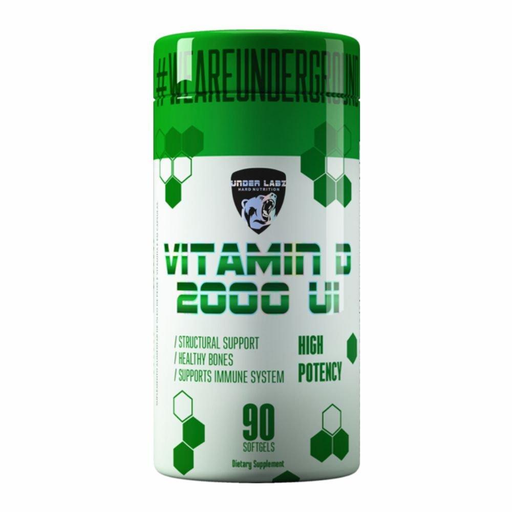 VITAMINA D 2000 60 Caps - Under Labz